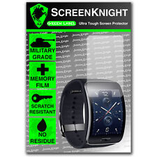 ScreenKnight Samsung Galaxy Gear S SCREEN PROTECTOR invisible military shield