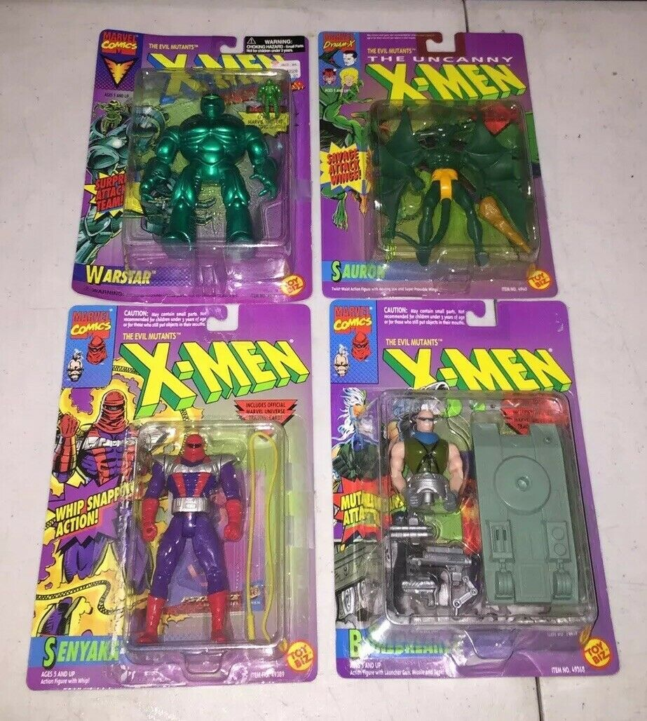 JugueteBiz-X-men La Evil mutantes-WarEstrella Sauron Bonebreaker - 1996-leer descripción