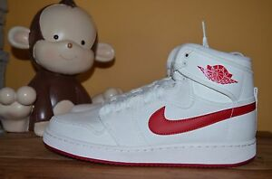e74f74bf910bef NEW NIKE AJ1 KO HIGH OG MENS SZ 11 Sail Varsity Red 638471-102 AIR ...