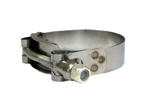 """TC250-2/"""" T-Bolt Stainless Steel Hose Clamp Banjo Super Clamp"""