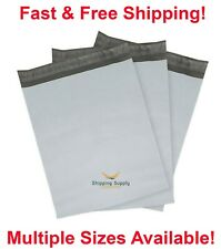 Poly Mailers Shipping Envelopes Self Sealing Plastic Mailing Bags Select Size