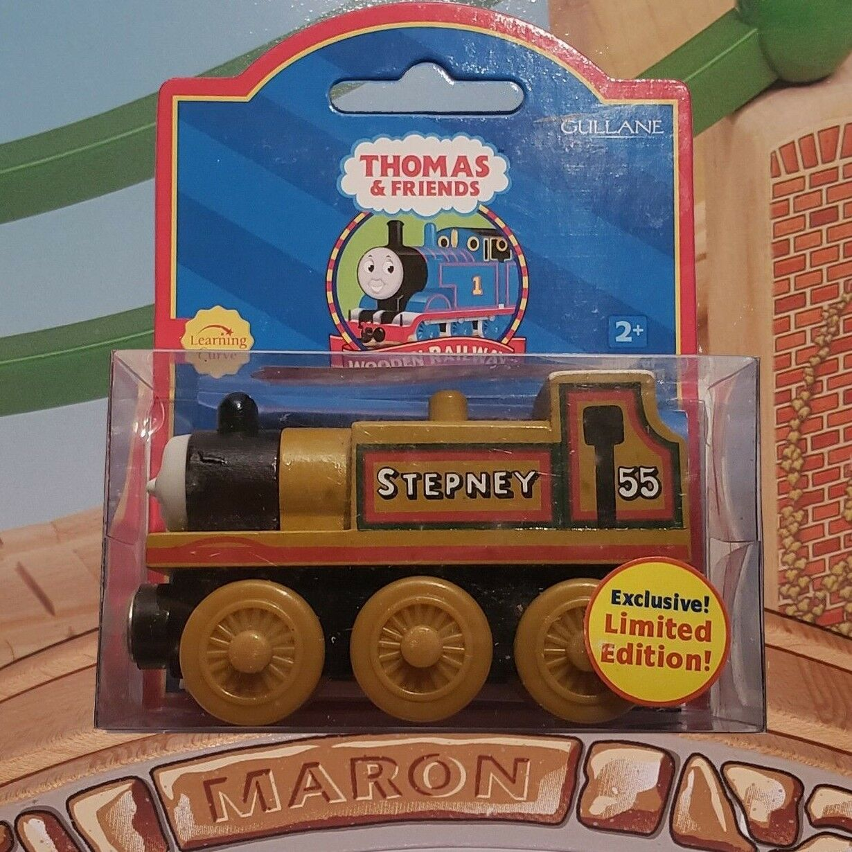 LIMITED EDITION MINT 2001 THOMAS & FRIENDS WOODEN RAILWAY   STEPNEY  LC99073