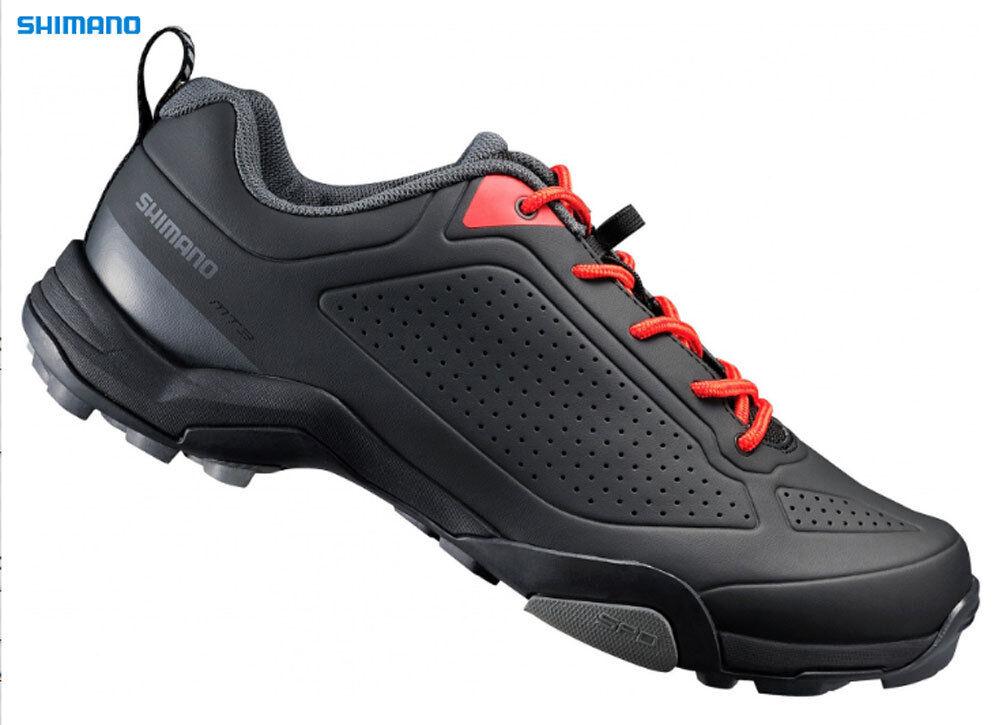 Shimano Schuhe MTB MT3 Unisex Schwarz schwarz