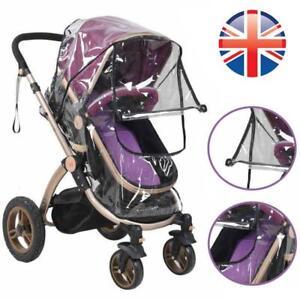vendedor-del-Reino-Unido-Premium-universal-cochecito-carro-Coche-Cochecito-de-nino-bebe-Protector