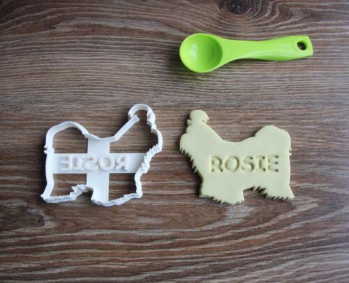 Shih Tzu Custom Cookie Cutter Treat Personalized Pet Name
