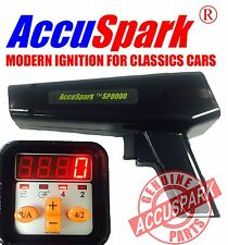 AccuSpark Black SP8000 Ignition Timing light digital advance / Rev counter