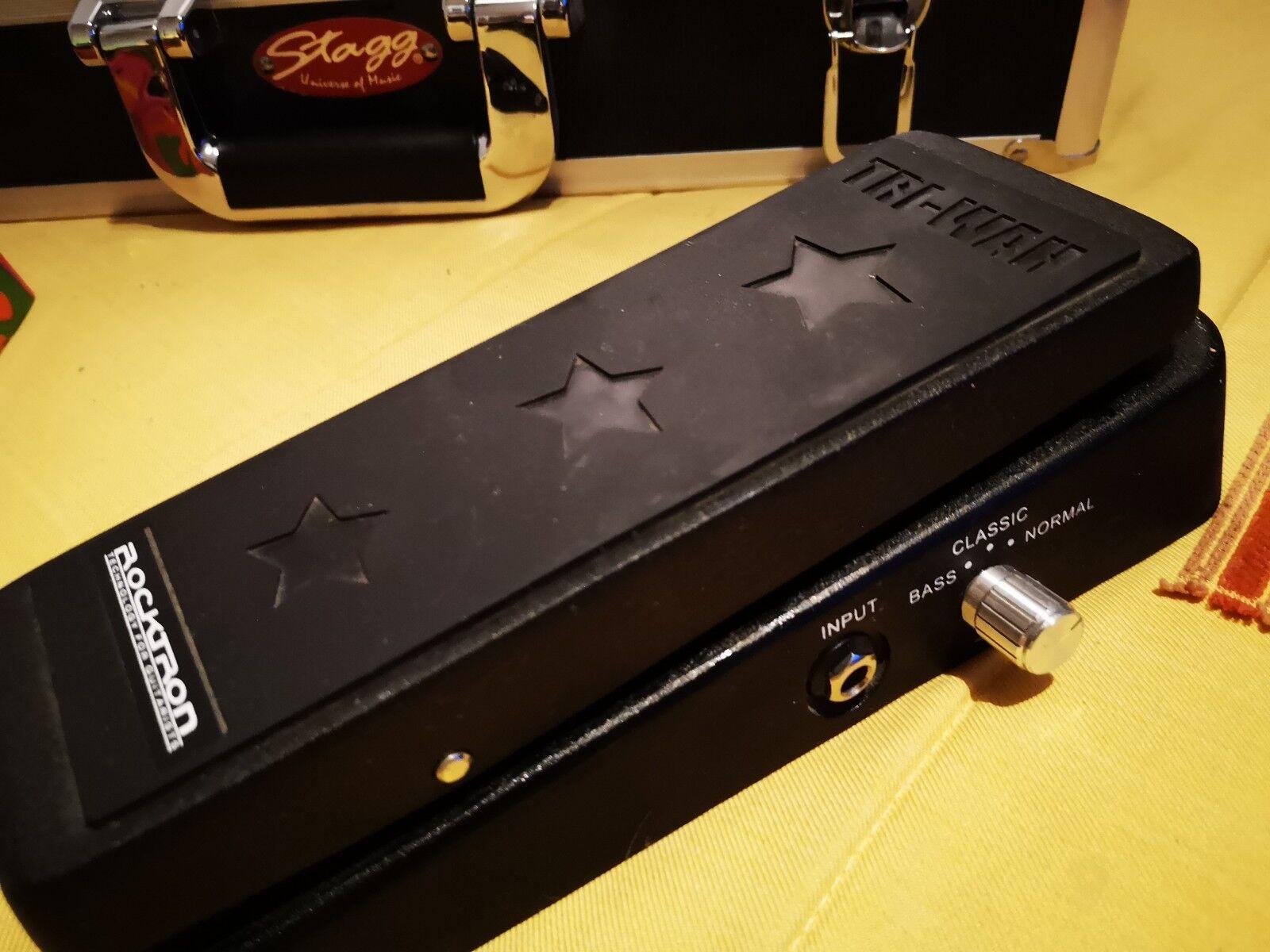 Pedal para guitarra Rocktron Tri-Wah (wah wah, tipo Dunlop cry baby mejorado)
