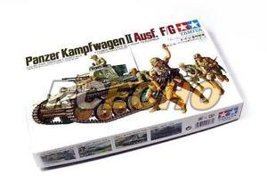 Tamiya-Military-Model-1-35-Panzer-Kampfwagen-II-Ausf-F-G-Hobby-35009