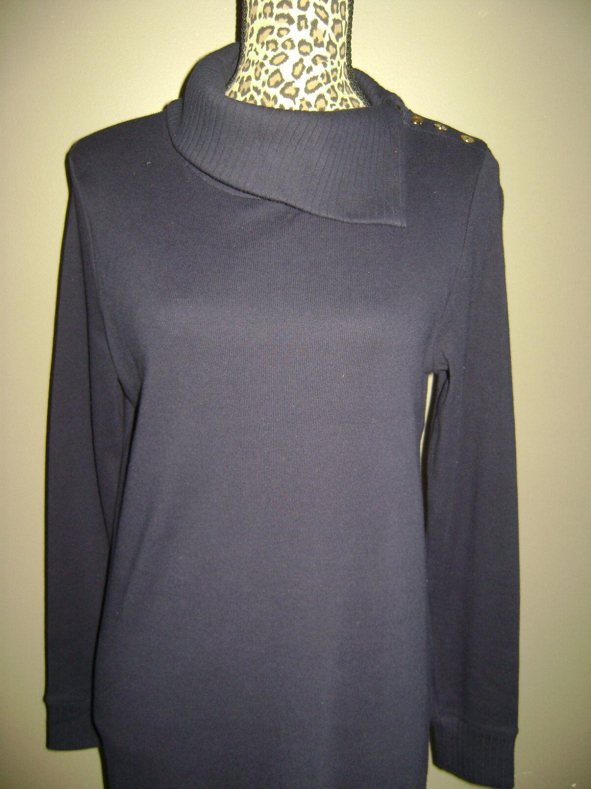 RALPH LAUREN WOMEN LONG SLEEVE DRESS size S BLUE … - image 2