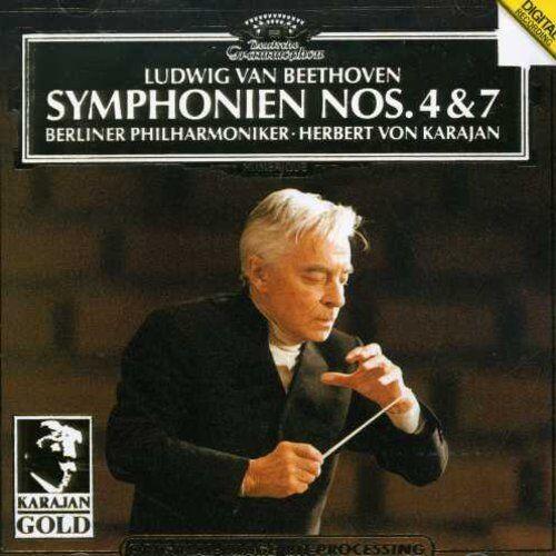 Berlin Philharmonic Orchestra - Symphonies 4 & 7 [New CD]