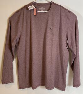 Vineyard-Vines-Mens-Edgartown-Embroidered-L-S-Pocket-Tee-Sz-2XL-Purple-NEW