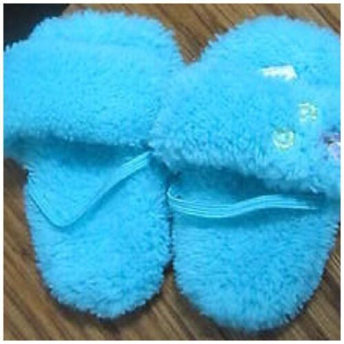 2006 American Girl Doll Jess PJ Pajama SLIPPERS ONLY Retired