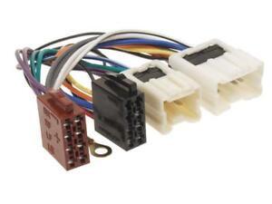 Auto-Radio-Adapter-Kabel-Stecker-ISO-fuer-NISSAN-Xtrail-1-T30