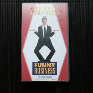 ROWAN-ATKINSON-PRESENTS-FUNNY-BUSINESS-VHS