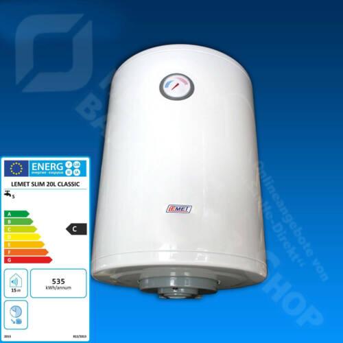Wasserspeicher Warmwasserspeicher Elektro-Boiler 20 l