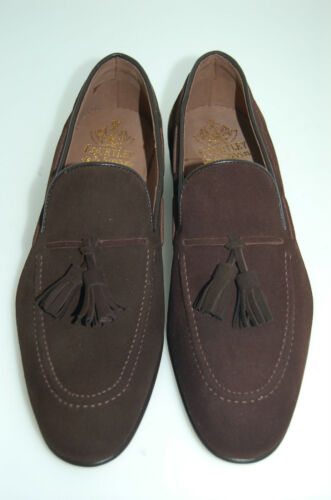 single Sole Bitter Suede Loafer Chocolate Man Tassel Lth Blake Cstn Hvtw0qxXnR
