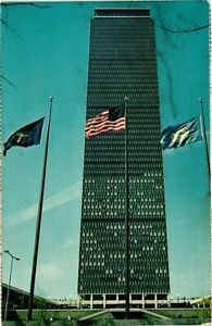 Vintage Postcard - The Prudential Tower In The Prudential Center Boston MA #4495