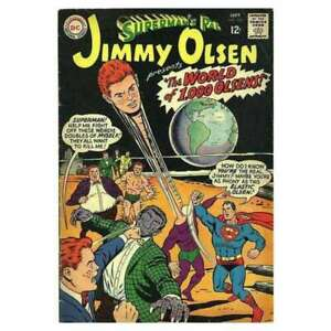 Superman-039-s-Pal-Jimmy-Olsen-1954-series-105-in-Fine-condition-DC-comics-7u