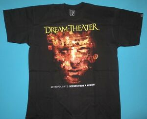 Dream Theater Metropolis Pt2 Scenes From A Memory T Shirt Ebay