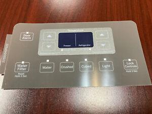 Brand New Genuine OEM GE Refrigerator Dispenser Overlay only for WR55X11041