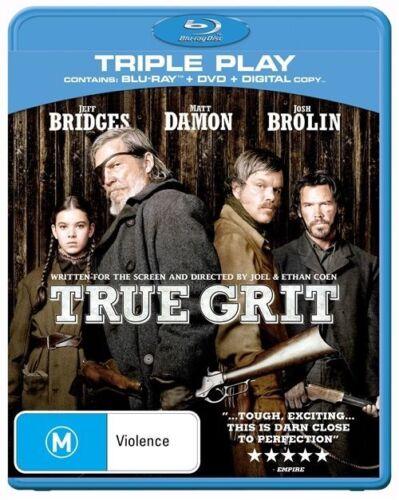 1 of 1 - True Grit (Blu-ray, 2011, 3-Disc Set) - Matt Damon, Jeff Bridges, Josh Brolin