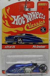 HOT WHEELS CLASSICS SERIES 1 #21//25  PIT CRUISER BLUE