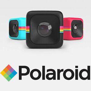 Polaroid-CUBE-FullHD-Sports-Action-Video-Camera-ROSSA-Garanzia-Italia