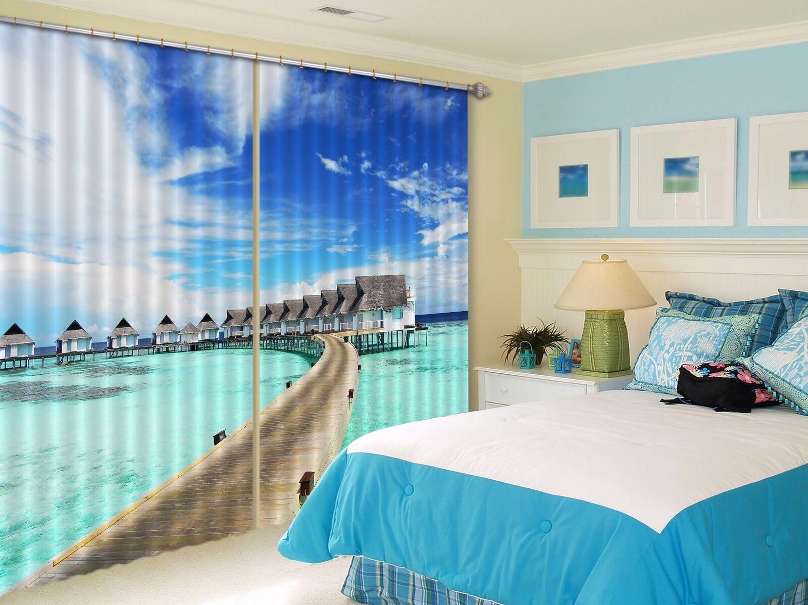 3d ondas cielo bloqueo 69 cortina de fotografía presión cortinas cortina de tela de ventana