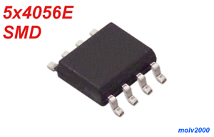 5x 4056E TP4056 4056 SMT SMD Doble Operacional OPERATIONAL AMPLIFIERS SOP8
