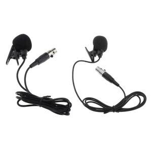 3-4Pin-Lavalier-Microfono-Microfono-A-Condensatore-Bavero-Clip-Per