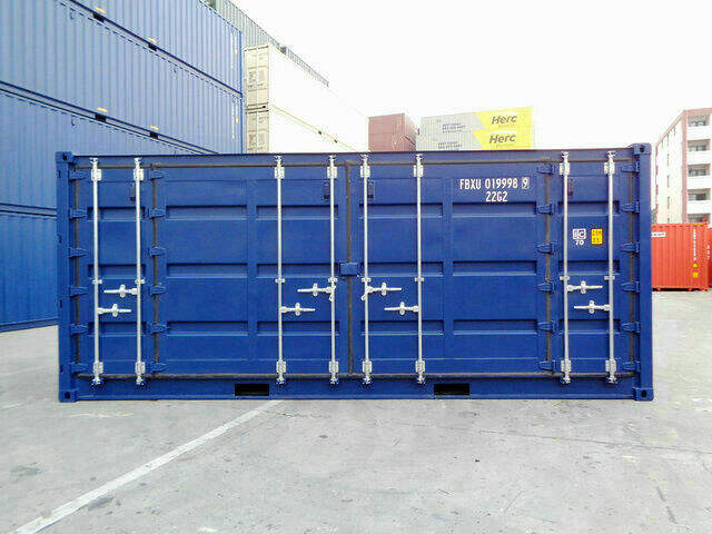 20'HC Sidedørs container