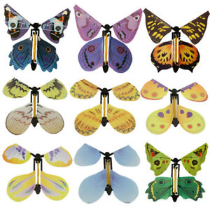 2pcs Card Magic Flying out Plastic Butterfly Surprise Birthday Festival Present