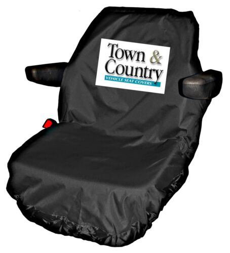 TOWN /& COUNTRY TRACTOR SEAT COVER LARGE//UNIVERSAL BLACK