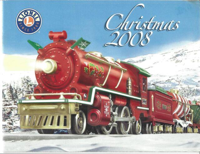 Lionel Christmas Train.Lionel 2008 Christmas Train Catalog