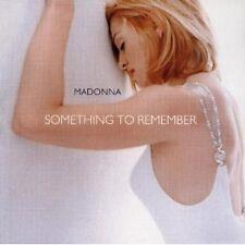 MADONNA - SOMETHING TO REMEMBER *  CD
