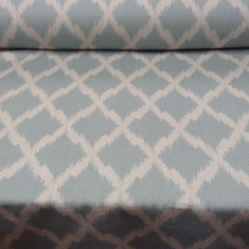 Ikat Duckegg  Natural Oatmeal Linen /& Bamboo  Curtain//Craft//Upholstery Fabric