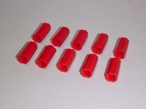 Lego Technic 6538c 10 Kreuzverbinder,in rot aus 9395 9398 8070 8110 8265 42009