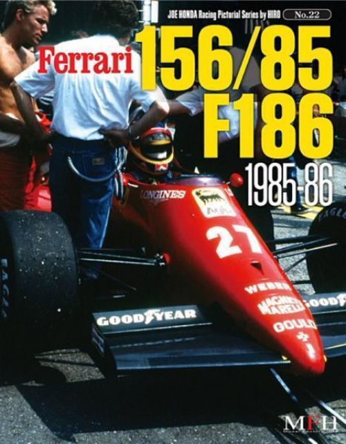 Mfh Buch No22. Ferrari 156 85 F186 1985-86 Rennsport Gepunktet Serie von Hiro