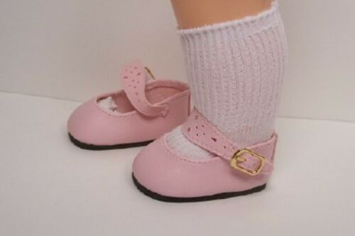 "Debs LT PINK Splendid Doll Shoes EZ2 Close For 16/"" Terri Lee"