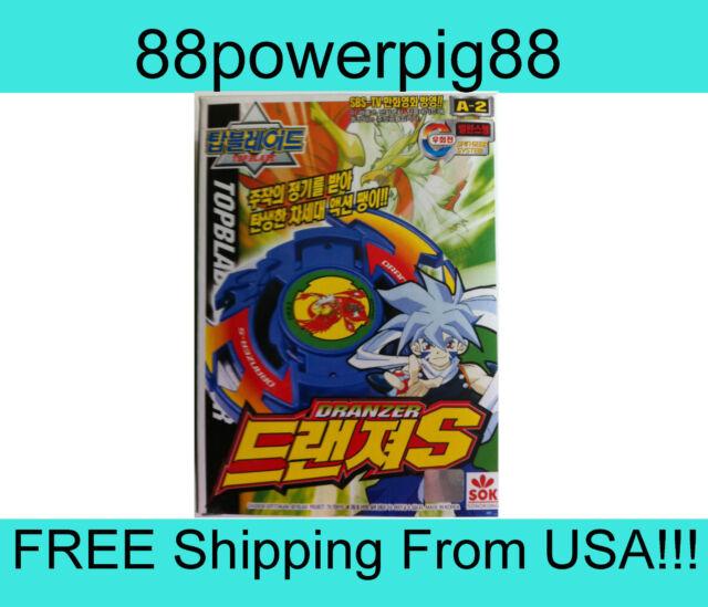 Sonokong Topblade Beyblade Spin Gear A-2 Dranzer S US Seller