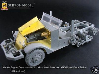 Griffon L35A036 1//35 M2//M3 Half-Track Engine Hood