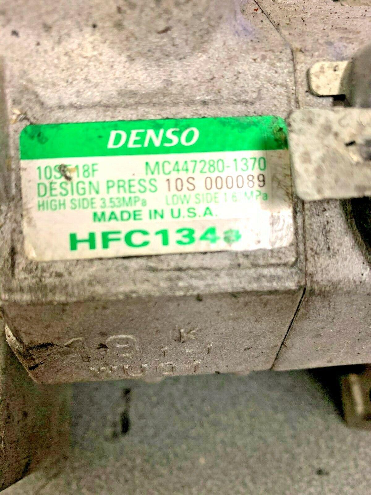 2012-2016 6.6L Duramax Express Savana Denso A//C Compressor 10SE18F MC447280-1370