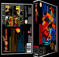 Art Of Fighting - Snes Reproduction Art Case/box No Game.