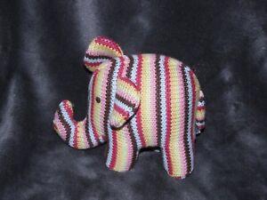 Ravelry: Elephant Rainbow Baby Rattle pattern by Loren Ver | 225x300
