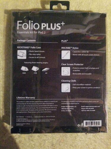 Incipio Folio Caso Plus Ipad 2 spedizione gratuita!!! nuovo!!