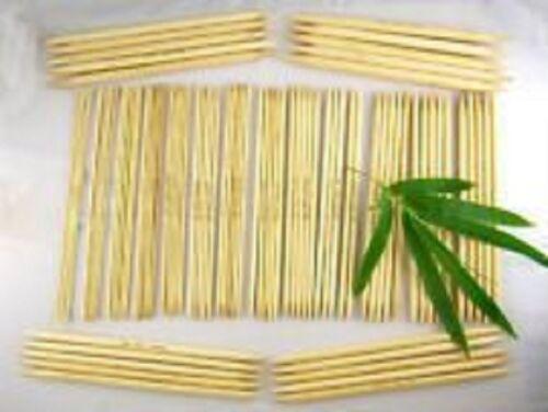 Stricknadel Bambus Nadelspiel 20 cm lang 3,50 mm Stärke
