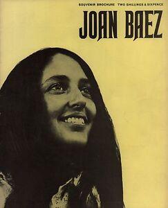 JOAN-BAEZ-1967-JOAN-UK-TOUR-CONCERT-PROGRAM-BOOK-BOOKLET-EX-2-NEAR-MINT