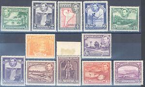 BRITISH-GUIANA-SCOTT-230-41-MINT-LIGHT-HINGED-SCOTT-VALUE-88-95