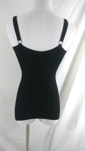 New Body Wrap Plus Size 2X Black Tank Camisole
