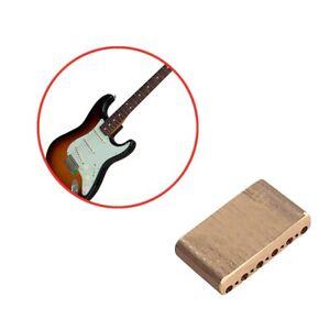 Brass-Bridges-Block-For-Fender-American-Special-Strat-Electric-Guitar-Parts